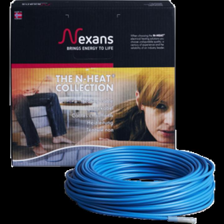 Теплый пол Nexans нагревательный кабель TXLP/1 1000/17, 6,6 м.кв.