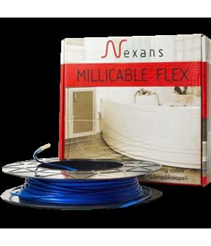 Теплый пол Nexans нагревательный кабель Millicable flex/15 375Вт, 2,5 м.кв.